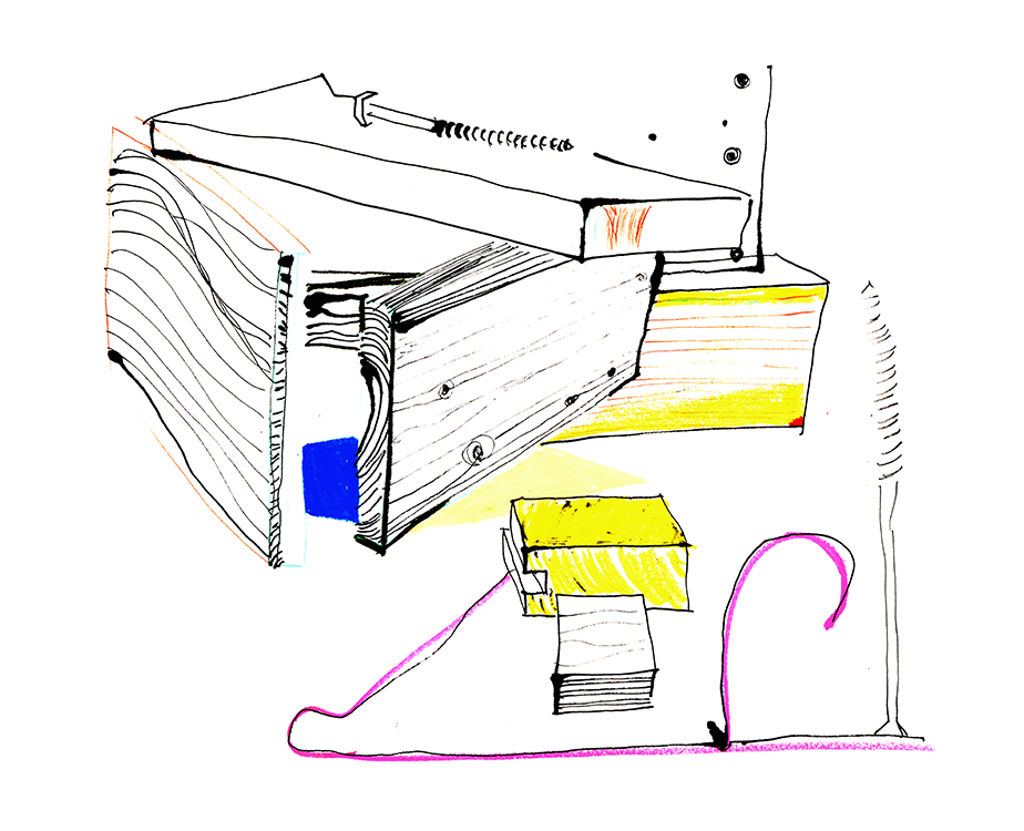 Scénographie et Design espace Clemence Chiron